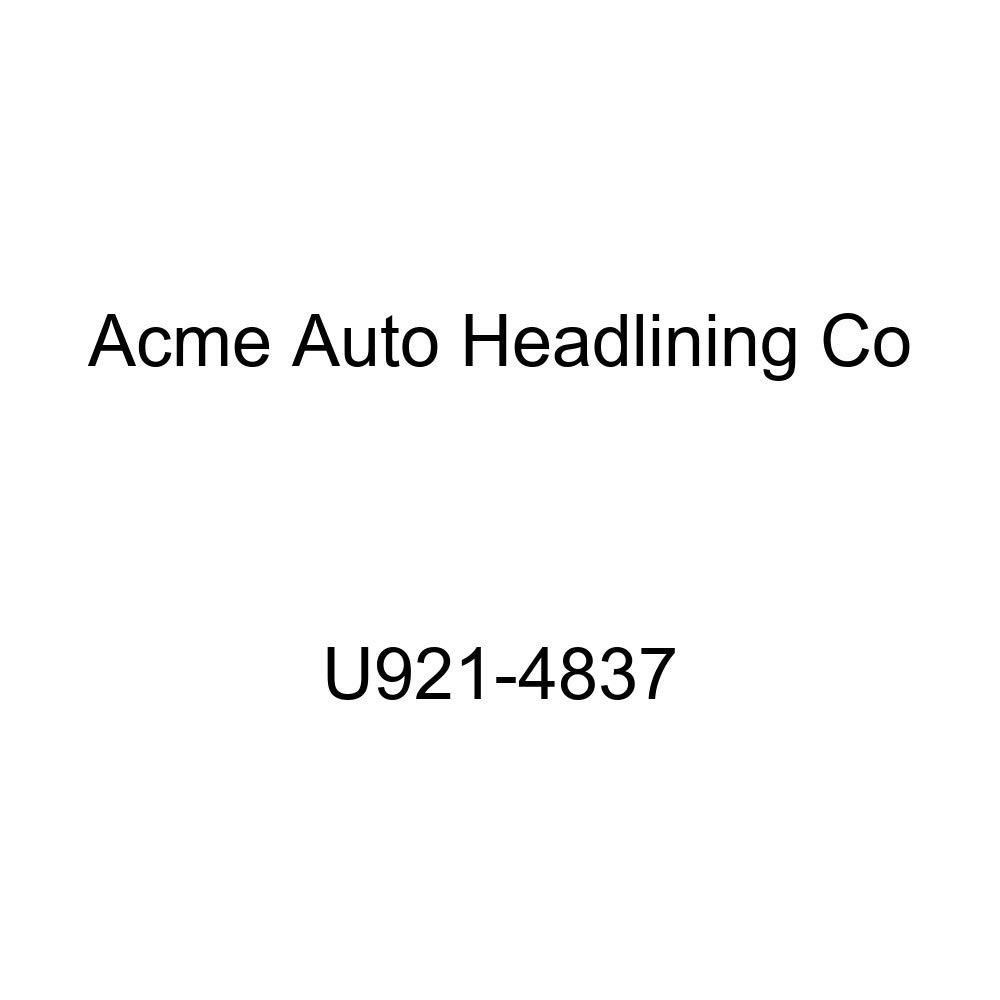 Acme U921-4837 Medium Blue Vinyl Front Bucket and Rear Bench Seat Upholstery