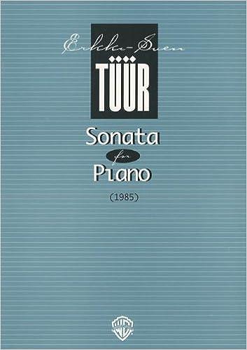 Book Sonata for Piano (1985)