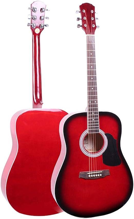 BAIYING-Guitarra Acústica Familia Práctica Estudiantil Guitarra ...