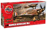 Airfix A04102 1:48 Scale Hawker Hurricane Mk1 Military Aircraft Classic Kit Series 4