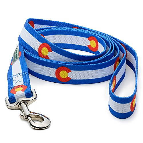 Colorado Flag Dog Leash in 2 Different Sizes (6 feet)