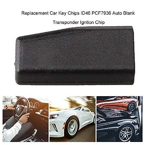 Bianchipamela Replacement Car Key Chips Id46 Pcf7936 Auto Blank Transponder Igntion Chip Lebensmittel Getränke