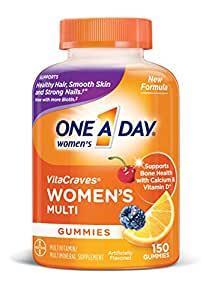 One A Day Women's VitaCraves Multivitamin Gummies, 150 Count