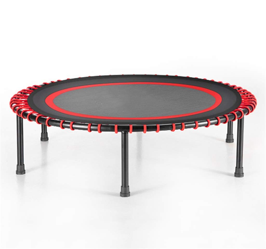 LKFSNGB 40 Inch Fitness Trampoline Indoor Outdoor Slimming Fat Burning Trampoline Family Gym Sports Exercise - Support 130kg by LKFSNGB