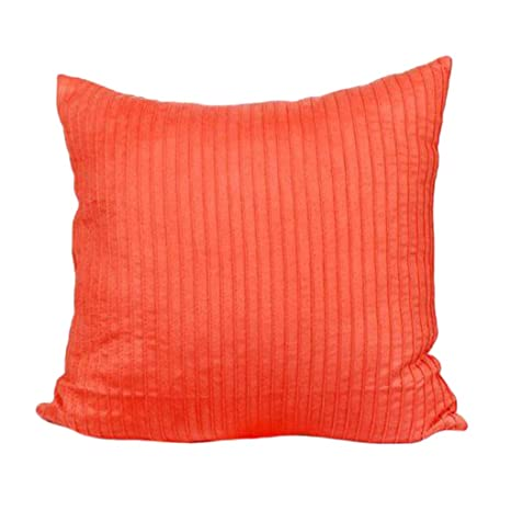 Suede Decorative Square Pillows Case Sofa Bed Waist Cushion Cover Home Decor