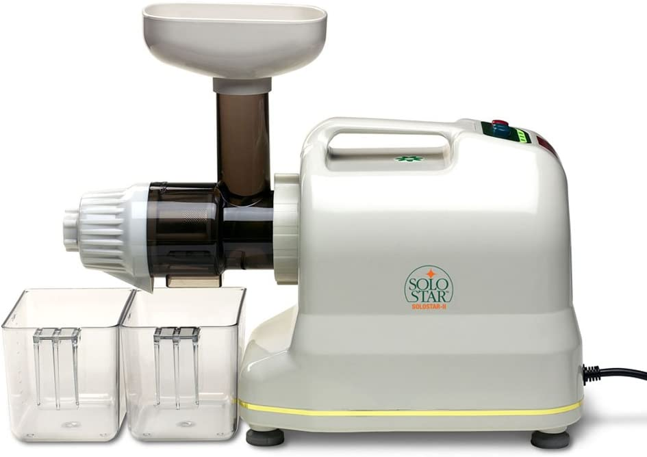 Tribest Solo Star-II SS-9002-220V Single-Auger Juice Extractor, 220V, NOT FOR USA USE (European Cord)