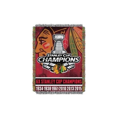 - NHL Chicago Blackhawks Tapestry Throw Blanket, 48-Inch/60-Inch