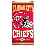 "Kansas City Chiefs Fiber Reactive Beach Towel 30""x60"""