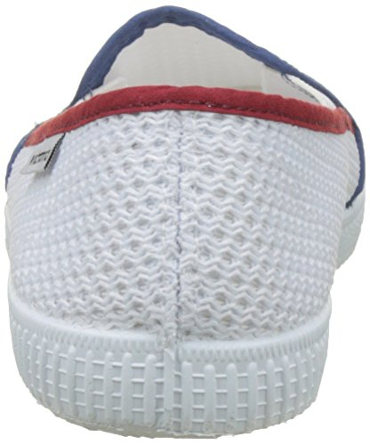 Rejilla on Tricolor Slip Victoria Mixte Blanco Blanc Baskets Adulte fx4zn