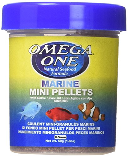 Omega One Marine Mini Pellets with Garlic, 1.8 -