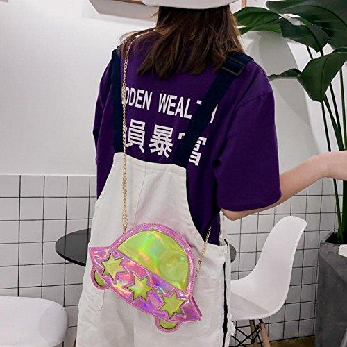Widewing Rosa mujer de para poliuretano al hombro Bolso 0wHO0