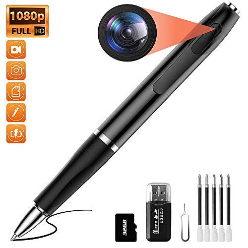 🥇 Mini Hidden Camera Pen Spy Camera HD 1080P Video Recorder