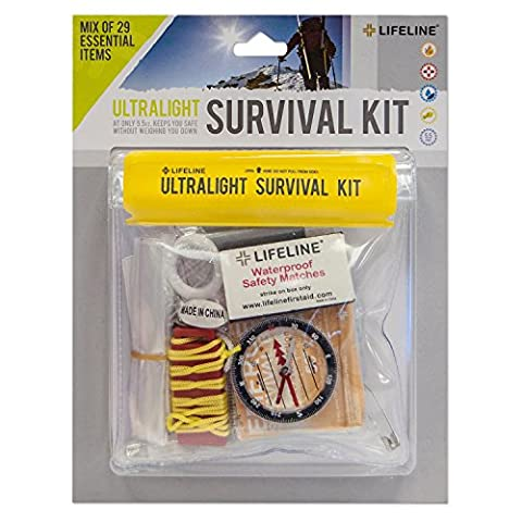 Lifeline Ultralight Survival Kit - 29 Piece (1 8 Snare Lock)