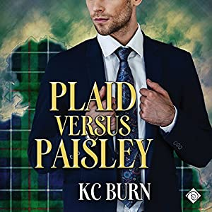 Audio Book Review: Plaid Versus Paisley (Fabric Hearts #2) by K.C. Burns (Author) & David Ross (Narrator)