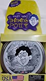 """LIQUID GLASS Large 4"""" Crazy Aaron's Thinking PuttyCrystal CLEAR PUTTY silly toy Transparent NEW For Ages 3+"""
