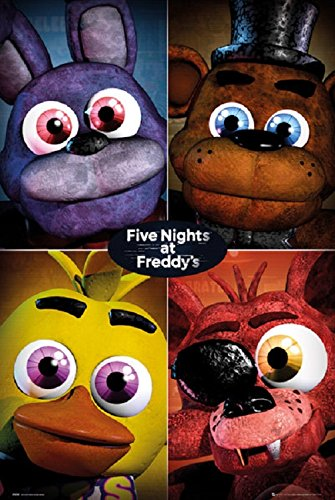 Five Nights At Freddys - Four Poster