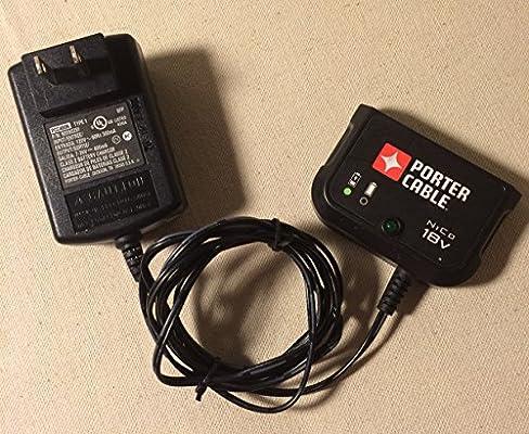 Amazon.com: Porter Cable Cargador 18 V NiCd cargador de ...