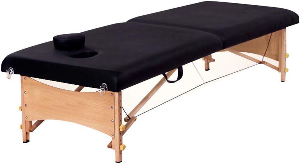 マッサージテーブル/美容ベッド、折りたたみ式ポータブル木製SPAタトゥーチェア、理学療法/レイキ