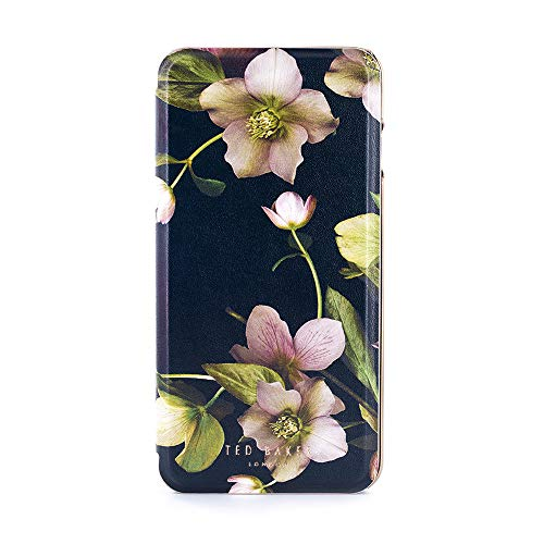 - Ted Baker AW18 Fashion Mirror Folio Case for Apple iPhone 8 Plus / 7 Plus, Protective Cover for Professional Women/Girls - EARTHER- Arboretum