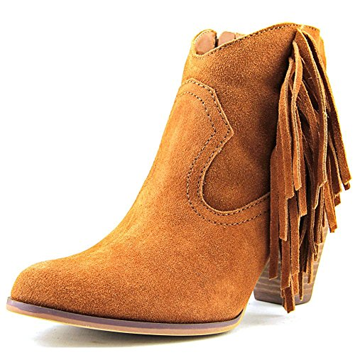 Boho-Chic Vacation & Fall Looks - Standard & Plus Size Styless - Steve Madden Women's Ohio Boot, Chestnut Suede, 10 M US