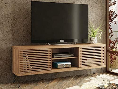 Caemmum - Mueble para TV (72 Pulgadas, 180 cm, Patas de Metal ...
