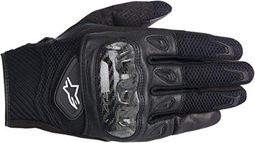 (Alpinestars SMX-2 AC Men's Street Gloves - Black/XXX-Large)