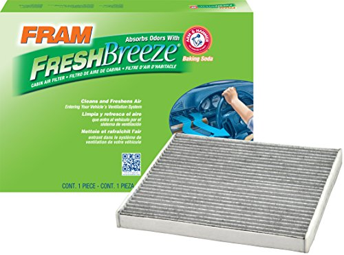 FRAM CF10361 Fresh Breeze Cabin Air Filter with Arm & Hammer