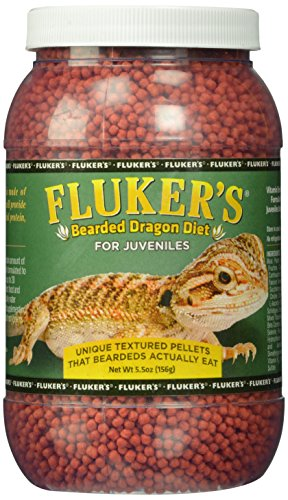 - Fluker Labs SFK76031 Juvenile Bearded Dragon Diet Food, 5.5-Ounce