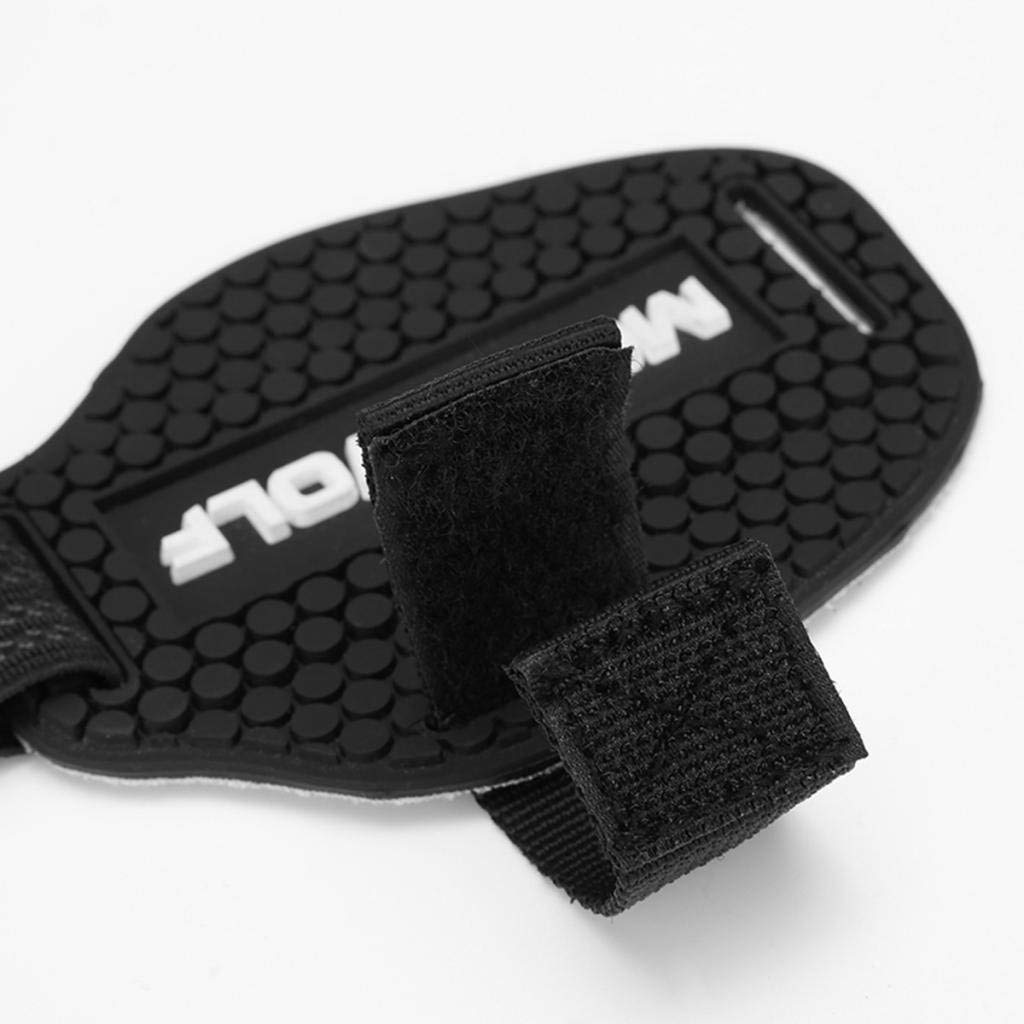 Black Rubber Gear Shift Shoes Boots Scuff Protector Shifter Guards Xrten Motorcycle Gear Shift Pad Shoes Boots Protector