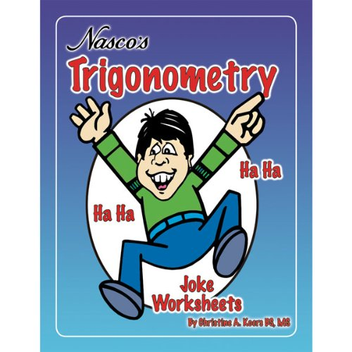 Amazon.com: Nasco TB24448T Trigonometry Joke Worksheets, 48-Page ...