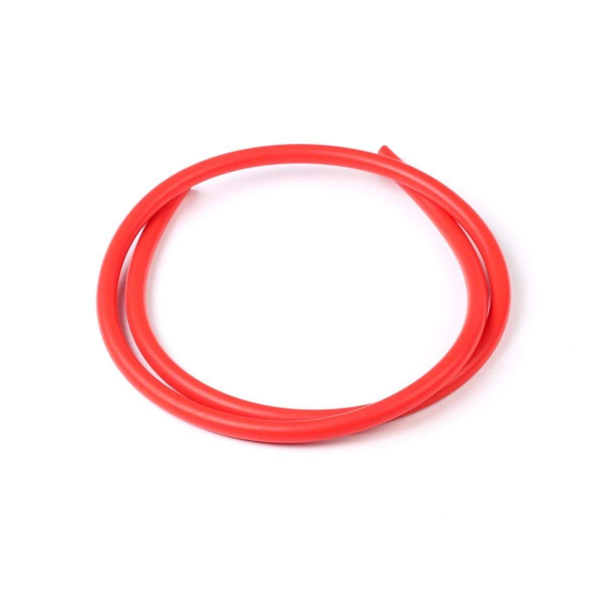 KapOD Red ID:1/4'' 0.25'' (6MM) Silicone Vacuum Hose Tube Pipe Racing Turbo 1 Foot by KapOD (Image #1)