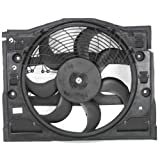 MAPM Premium 3-SERIES 99-06 A/C FAN SHROUD ASSEMBLY, Auto Tans/Man Trans