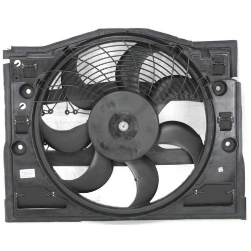 MAPM Premium 3-SERIES 99-06 A/C FAN SHROUD ASSEMBLY, Auto Tans/Man Trans by Make Auto Parts Manufacturing