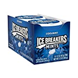 ICE BREAKERS Sugar Free Mints, Coolmint, 1.5 Ounce (Pack of 8)