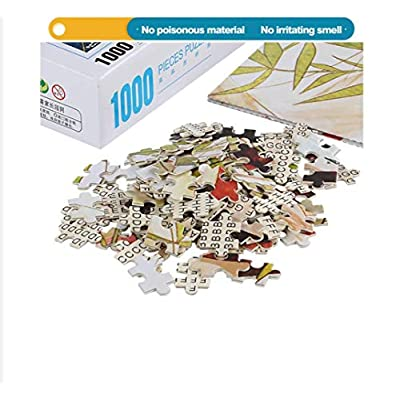 NA Jigsaw Puzzle for Adults 1000 Pieces - Dachshund - DIY Wooden Set Ideal Gift,Perfect Home Decoration 75X50Cm: Toys & Games