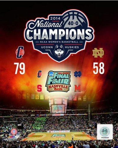 2014 Ncaa Final Four - UConn Huskies 2014 Womens NCAA Final Four National Championship Photo 8