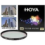 Hoya 58mm HMC UV-IR Digital Multi-Coated Slim Frame Glass Filter