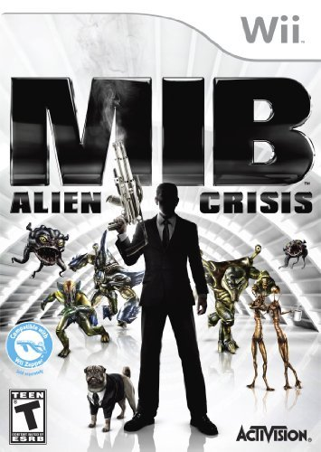 Men In Black: Alien Crisis - Nintendo Wii by Activision (Men In Black Alien Crisis)