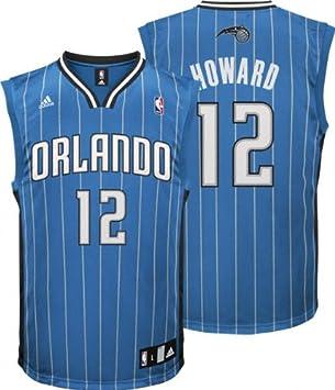 pretty nice 2aed2 63b2a Amazon.com : adidas Dwight Howard Youth Jersey Blue ...