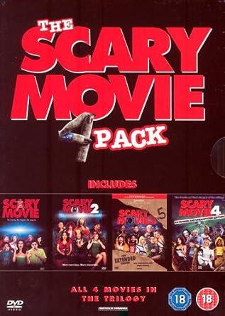 Scary Movie 1-4 Box Set [Reino Unido] [DVD]: Amazon.es: Scary Movie: Cine y Series TV