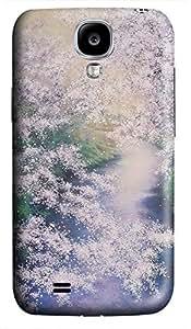 indestructible Samsung S4 case Purple Flowers Cute 3D cover custom Samsung S4