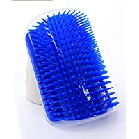 BESTPICKS Pet Cat Self Groomer Tool Hair Removal Brush Comb for Cats Hair Shedding Trimming Cat Massage Device