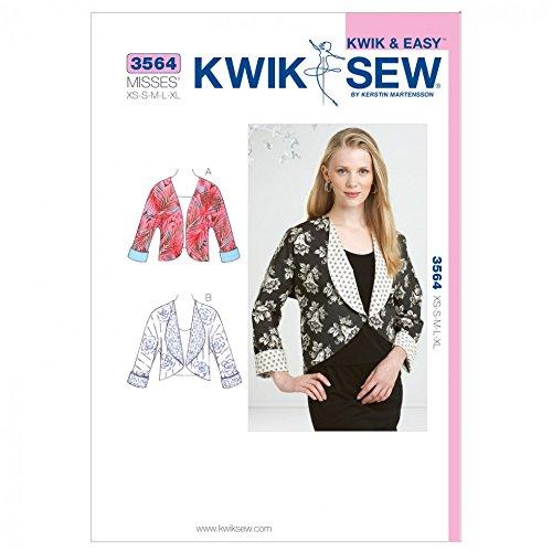 - Kwik Sew Ladies Sewing Pattern 3564 Cropped Jackets