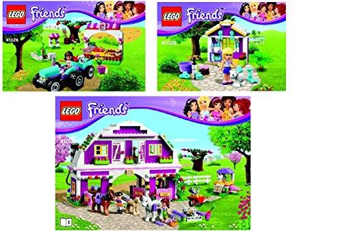 LEGO Friends 3-in-1 Sunshine Ranch, Sunshine Harvest, Stephanie's New Born Lamb