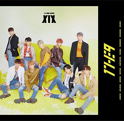 1THE9 - XIX (1st Mini Album) CD+104p Booklet+2Photocard+12Lyrics Book+1Speical Card+1Standing Photo+Folded Poster by POCKETDOL STUDIO (Image #6)
