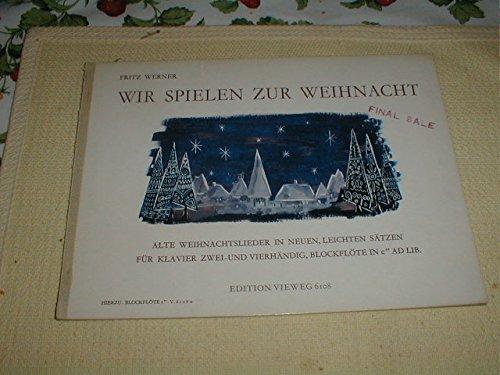 fritz-werner-wir-spielen-zur-weihnacht-christmas-recorder-piano