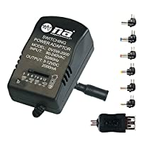 Nippon America 2000mA Multi-Purpose Power Adapter for 3v 4.5v 6v 7.5v 9v 12v