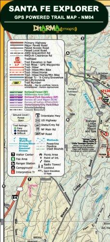 Santa Fe Explorer - GPS Powered Trail Map