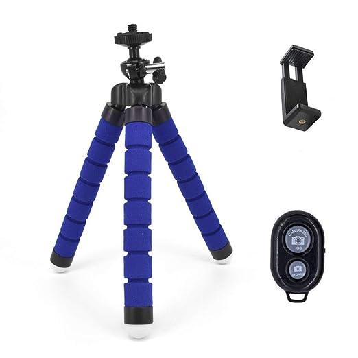 Mini tripode esponja flexible universal portátil Bluetooth selfie ...