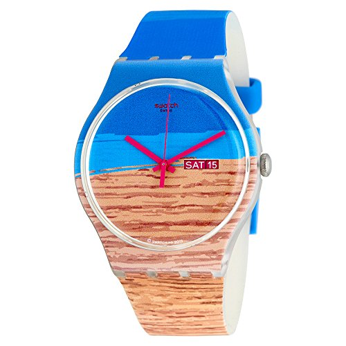 Swatch Women's Originals SUOK706 Multicolor Rubber Quartz Watch